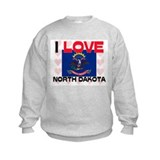 I Love North Dakota Sweatshirt