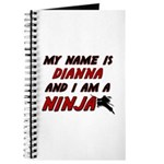 my name is dianna and i am a ninja Journal