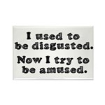 DISGUSTED AMUSED Rectangle Magnet (10 pack)