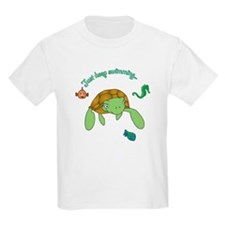 Just Keep Swimming! Kids T-Shirt