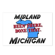 midland michigan - been there, done that Postcards