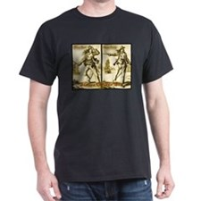 Anne Bonny & Mary Read Black T-Shirt