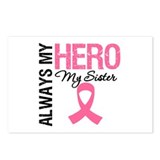 AlwaysMyHero Sister Postcards (Package of 8)