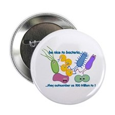 "Outnumbered 2.25"" Button"