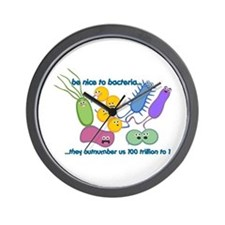 Outnumbered Wall Clock