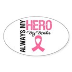 AlwaysMyHero Mother Oval Sticker (10 pk)