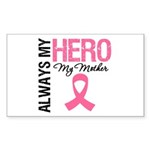 AlwaysMyHero Mother Rectangle Sticker 10 pk)