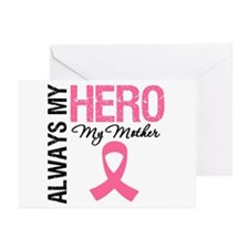 AlwaysMyHero Mother Greeting Cards (Pk of 10)