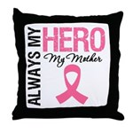 AlwaysMyHero Mother Throw Pillow