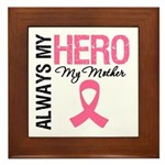 AlwaysMyHero Mother Framed Tile