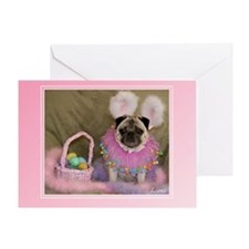 Lana Easter Bunny Greeting Card
