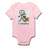 BB Boxer Adoption Infant Creeper