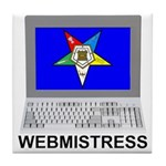 OES Webmistress Tile Coaster