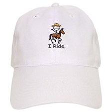 Western horse riding Baseball Cap