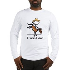 Horse Cowboy Long Sleeve T-Shirt