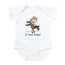 Horse Cowboy Infant Bodysuit