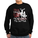 Deer & Women Sweatshirt