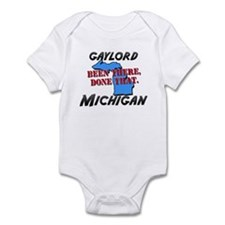 gaylord michigan - been there, done that Infant Bo