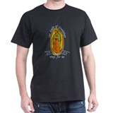 Our Lady of Guadelupe Black T-Shirt