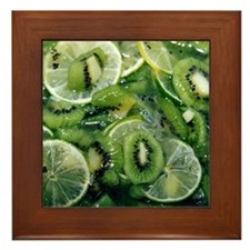Kiwi Lime - Framed Tile
