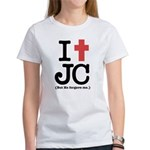 I Cross JC Women's T-Shirt