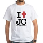 I Cross JC White T-Shirt