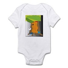 tree scene Infant Bodysuit