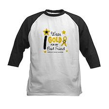 I Wear Gold 12 Best Friend CHILD CANCER Tee