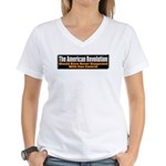 American Revolution Women's V-Neck T-Shirt