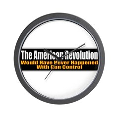 American Revolution Wall Clock