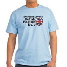 Polish English Boy T-Shirt