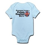Polish English Boy Onesie
