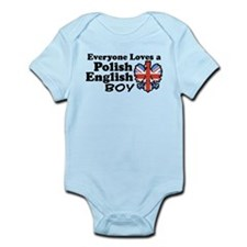 Polish English Boy Infant Bodysuit