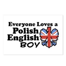 Polish English Boy Postcards (Package of 8)