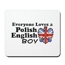 Polish English Boy Mousepad