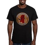 Mississippi Birder Men's Fitted T-Shirt (dark)