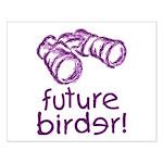 Future Birder Small Poster