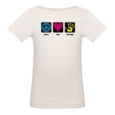Peace, Love, Massage Tee