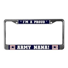 Proud Army Nana License Plate Frame