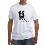 Rat (2) Fitted T-Shirt