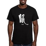 Rat (2) Men's Fitted T-Shirt (dark)