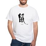 Rat (2) White T-Shirt