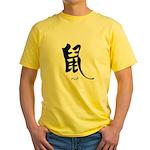 Rat (2) Yellow T-Shirt