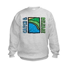 Catch and Release Kids Sweatshirt