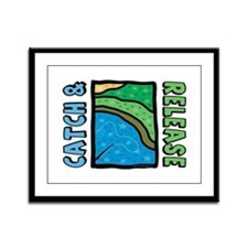 Catch and Release Framed Panel Print