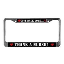 Thank a Nurse License Plate Frame