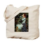 Ophelia / Flat Coated Retriev Tote Bag