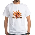 Coyotes Football Team White T-Shirt