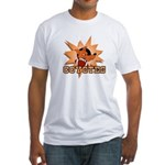 Coyotes Football Team Fitted T-Shirt