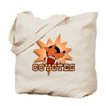 Coyotes Football Team Tote Bag